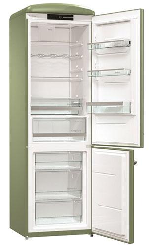 двухкамерный холодильник Gorenje ORK192OL