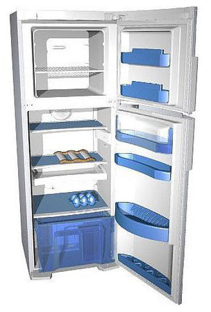 двухкамерный холодильник Gorenje RF 63304 W
