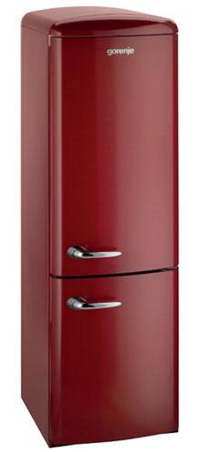 двухкамерный холодильник Gorenje RKV60359OR
