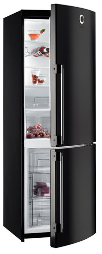 двухкамерный холодильник Gorenje RKV6800SYB