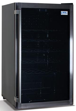 винный шкаф Crystal CRW 100B