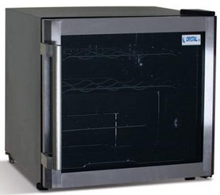 винный шкаф Crystal CRW 50 B
