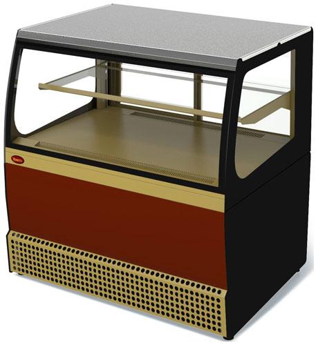холодильная и морозильная витрина МариХолодМаш Veneto VSk-0,95 (краш.)