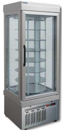 холодильная и морозильная витрина Tekna Line 4401 P Bronzo