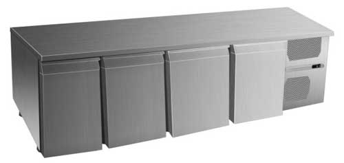 охлаждаемый стол Inox Electric LTD. DIAM-4PF 600