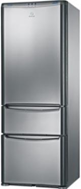 двухкамерный холодильник Indesit 3D A NX