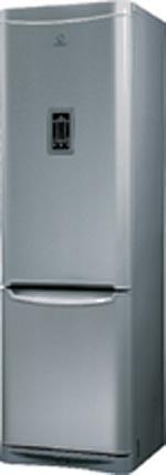 двухкамерный холодильник Indesit B 20 FNF DX