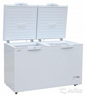 холодильный и морозильный ларь AVEX CFS-400 G