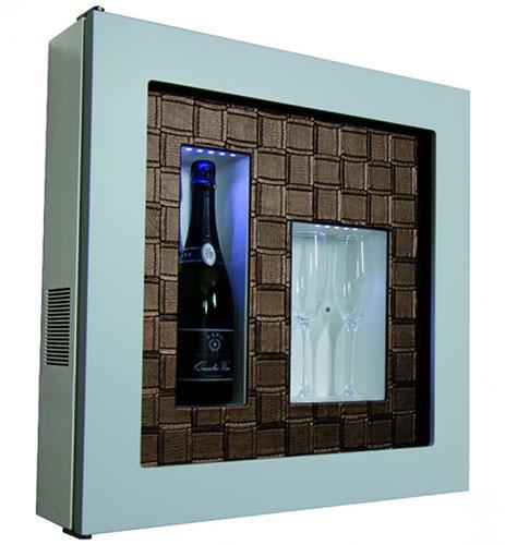 винный шкаф IP Industrie QV12-B1062