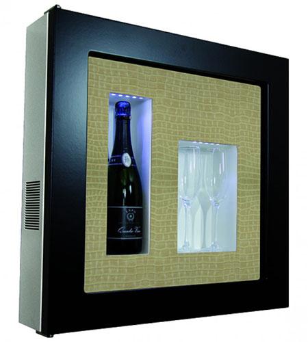винный шкаф IP Industrie QV12-B1267