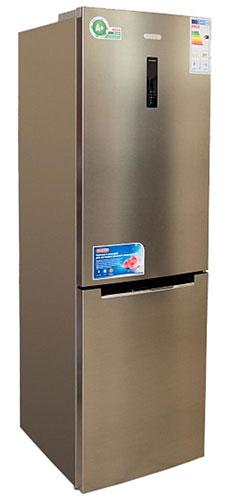 двухкамерный холодильник Leran CBF 210 IX