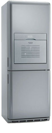 двухкамерный холодильник Hotpoint-Ariston MBZE 45 NF BAR/HA