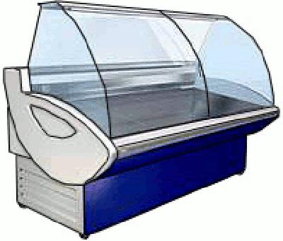 холодильная и морозильная витрина EKSI WEN-1300