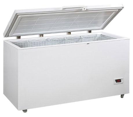 холодильный и морозильный ларь Hauswirt BCBE-455W