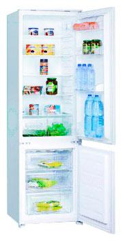встраиваемый двухкамерный холодильник Interline IBC 275