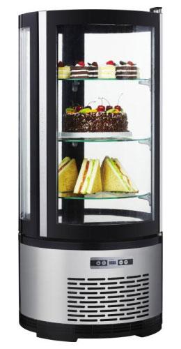 холодильная и морозильная витрина Starfood 100L( круглая)