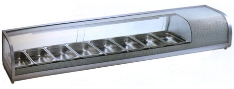 холодильная и морозильная витрина Starfood 132L