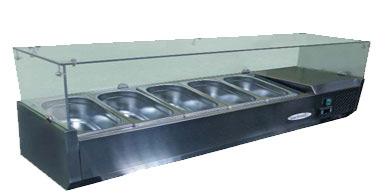 холодильная и морозильная витрина Starfood VRX1500 II