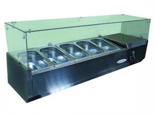 холодильная и морозильная витрина Starfood VRX1200 I