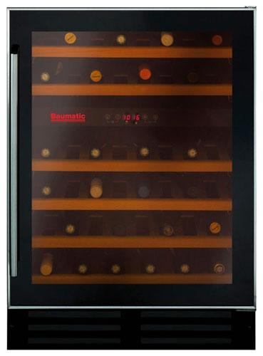 встраиваемый винный шкаф Baumatic BWC600SS