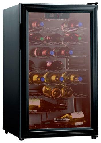 встраиваемый винный шкаф Baumatic BWE41BL