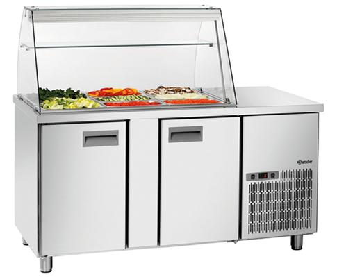 охлаждаемый стол Bartscher 1535T2GLK
