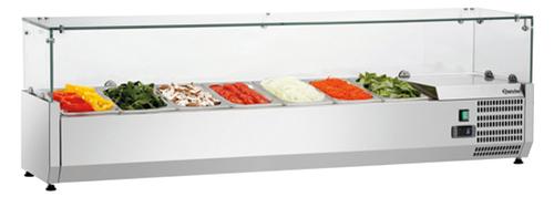 холодильная и морозильная витрина Bartscher GL4 7 x 1/4 GN
