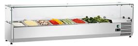 холодильная и морозильная витрина Bartscher GL4 8 x 1/4 GN