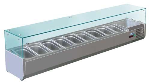 холодильная и морозильная витрина Forcool VRX 1500/330