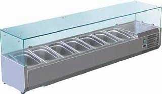 холодильная и морозильная витрина Forcool VRX 1800/330