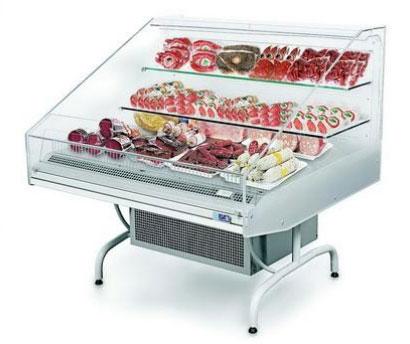 холодильная и морозильная витрина ISA ALFA 130 RV TN