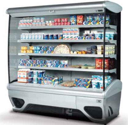 холодильная горка ISA DIALOG 100 RV TN FV