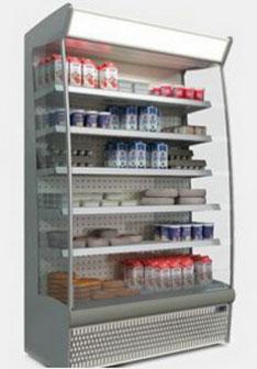 холодильная горка ISA SLIM 190 RV TN