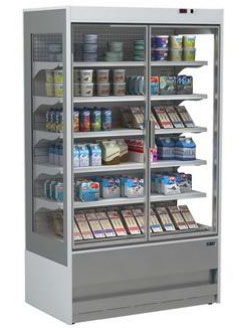 холодильная горка ISA SLIM GD 100 RV TN Single glass door