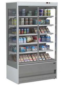 холодильная горка ISA SLIM GD 190 RV TN Double glass door