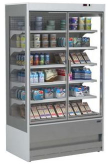 холодильная горка ISA SLIM SGD 100 RV TN
