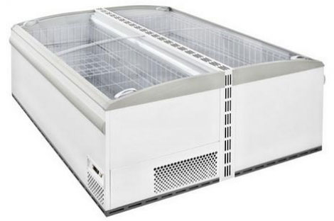 холодильный и морозильный ларь ISA TAHITI 183 RS TB Testata R404A