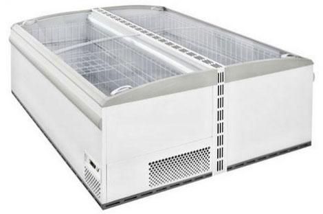 холодильный и морозильный ларь ISA TAHITI 210 RS TB R404A