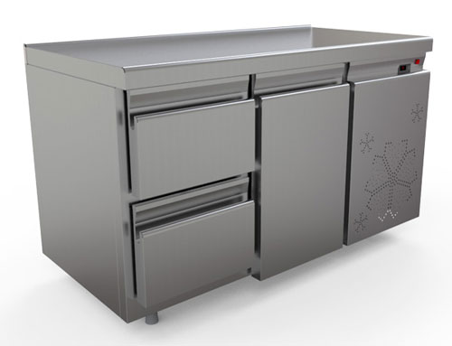 охлаждаемый стол КОБОР C6-1D2B