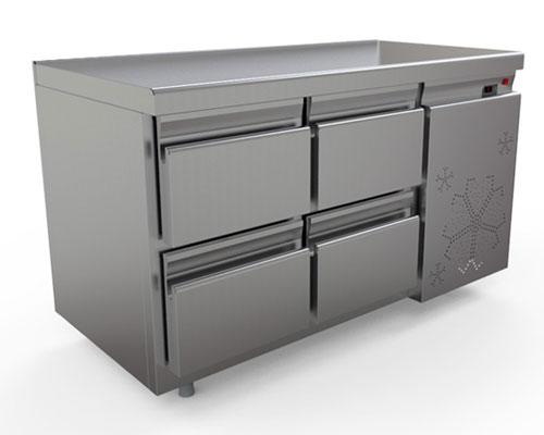 охлаждаемый стол КОБОР C6-4B