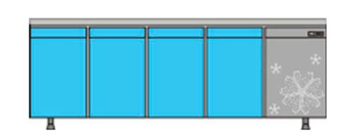 охлаждаемый стол КОБОР C6-4D
