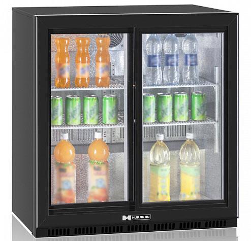 холодильный шкаф Hurakan HKN-DB205S