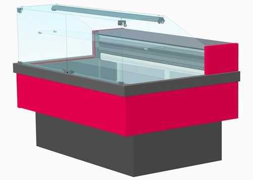 кондитерская витрина Enteco Cube 120 ВВ (К)