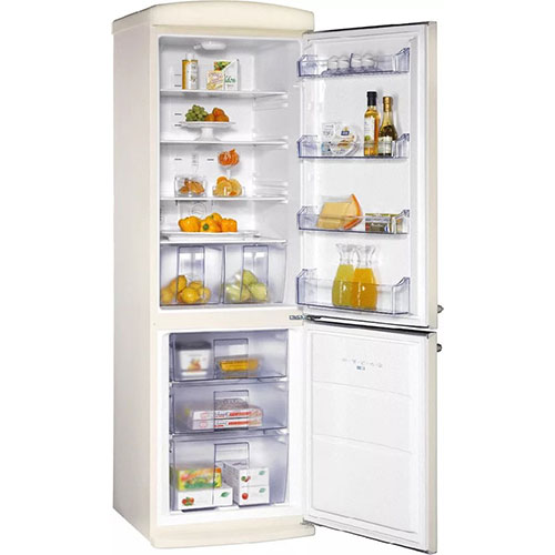 двухкамерный холодильник Schaub Lorenz SLUS 335 C2 бежевый