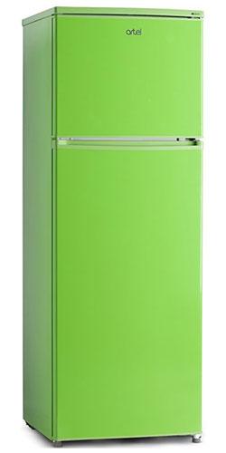 двухкамерный холодильник Artel HD 316 FN green right min