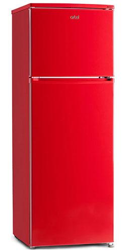 двухкамерный холодильник Artel HD 316 FN red right min