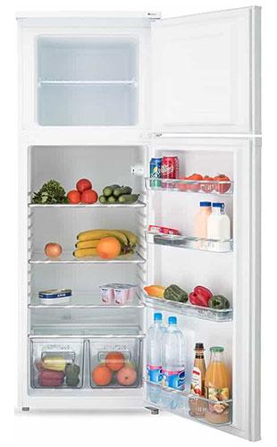 двухкамерный холодильник Artel HD 316 FN white front min