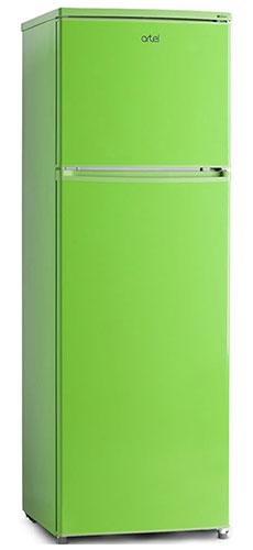 двухкамерный холодильник Artel HD 341 FN green right min