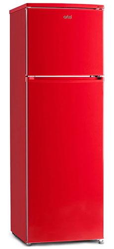 двухкамерный холодильник Artel HD 341 FN red right min