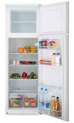 двухкамерный холодильник Artel HD 341 FN white front min